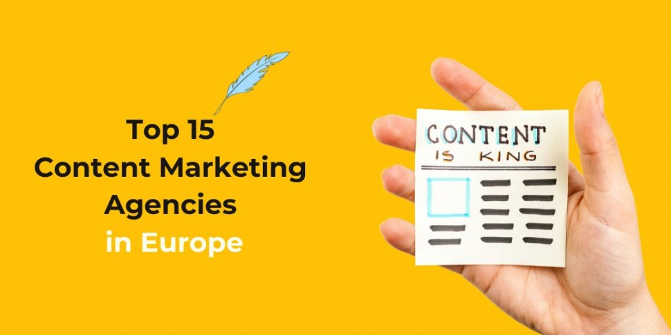 content marketing agencies in Europe