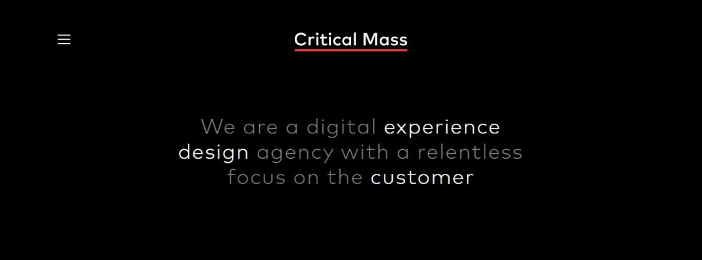 Critical Mass- Content Marketing Agencies in Europe